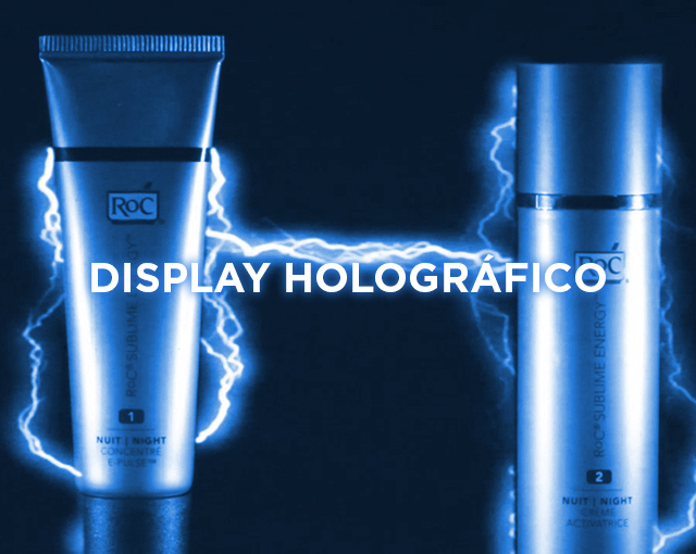 DISPLAY HOLOGRÁFICO