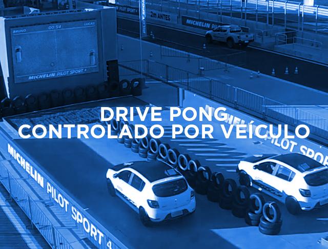 DRIVE PONG CONTROLADO POR VEÍCULOS