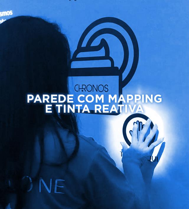 PAREDE COM MAPPING E TINTA REATIVA